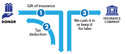 Gift of Life Insurance Diagram